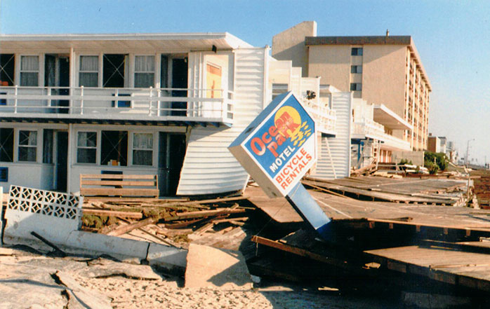 Aftermath-of-Hurricane-Gloria,-September-1985-(previously-the-site-of-the-Ocean-Park-Motel-at-17th-and-the-Boardwalk;-now-site-of-Holiday-Inn)